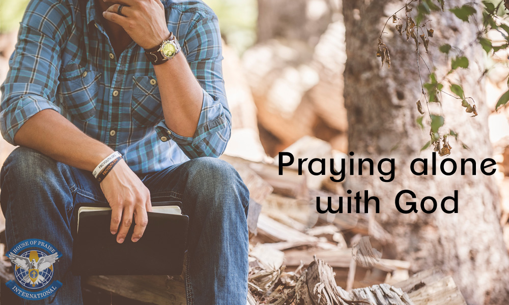 Praying Alone with God Image