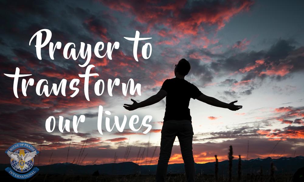 Prayer to Transform Our Lives Image